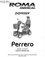 Shoprider Deluxe Manual