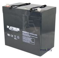 Platinum 12 Volt 55 Ah Battery