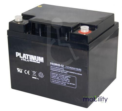 Platinum 12 Volt 40 Ah Battery