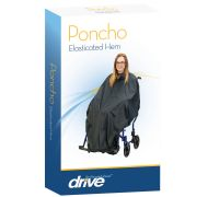 Elasticated Hem Poncho