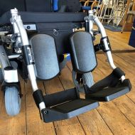 Pair of Elevating Leg Rests for Pride Fusion Powerchair