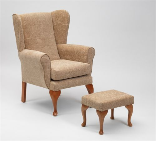 Queen Anne High Back Chair