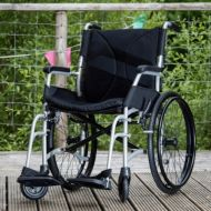 Dash Ultra Lightweight Wheelchair Attendant or Self Propelled