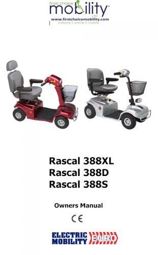 Rascal 388 Manual