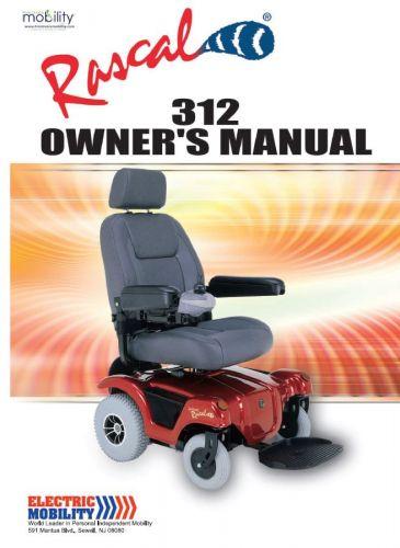 Electric Mobility Rascal P312 Manual