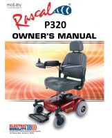 Electric Mobility Rascal P312 Manual on