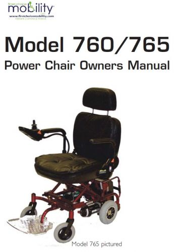 Electric Mobility Rascal Ultralite 760 And 765 Manual