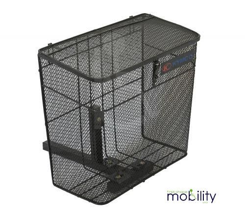 Large Metal Rear Scooter Basket