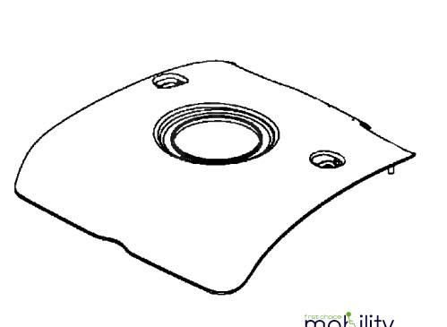 Replacement Rear Upper Panel Cover For Kymco Midi XL for U EQ35BA