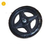 Rear Wheel for Drive R6 Rollator