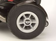 Rear Wheel Assembly For A TGA Minimo Mobility Scooter