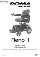 Shoprider Reno II / P319 Manual