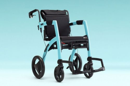 Topro Rollz Motion 2 Wheelchair and Rollator In One