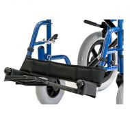 Footplate and Hangar Assembly for Roma Avant 1610 Self Propel Wheelchair and Avant 1630 Transit Wheelchair