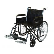 Roma 1473 Heavy Duty Self Propel Wheelchair 22 inch Wide Seat