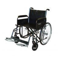 Roma 1473 Heavy Duty Self Propel Wheelchair 22 inch Wide Seat