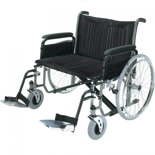 Roma 1473X Heavy Duty Self Propelled Wheelchair 26 inch Wide Seat