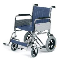 Roma 1485 Heavy Duty Car Attendant Wheelchair 20 inch Wide Seat