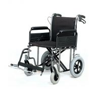 Roma 1485X Heavy Duty Car Transit Wheelchair 22 inch Seat Width