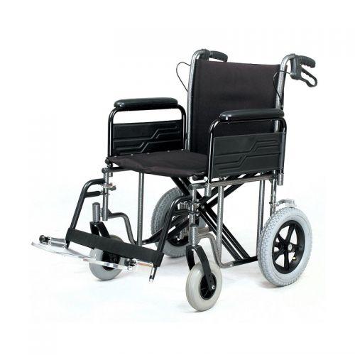 Roma 1485X Heavy Duty Car Transit Wheelchair 22 inch Seat Width