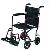 Roma 1247 Foldaway Attendant Wheelchair