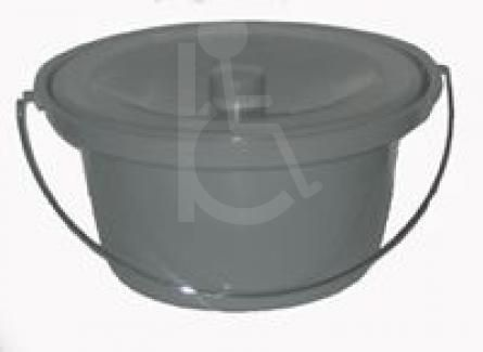 Commode Round Pot with Lid
