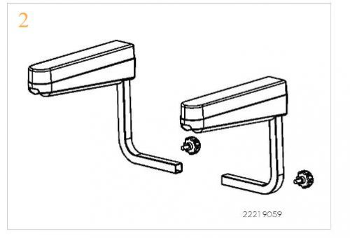Complete Arm Assembly For A Sunrise Sterling S700