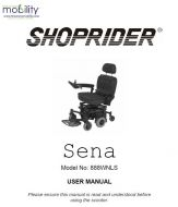 Shoprider Sena Manual