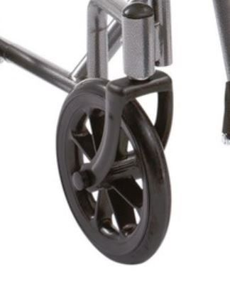Drive Steel travel chair TR39 Front Castor Wheel & Fork