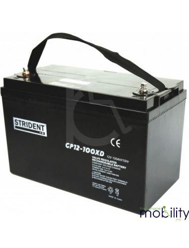 Strident 100ah AGM Battery