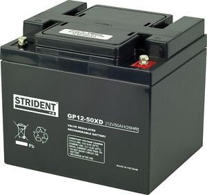 Strident 50ah AGM Battery
