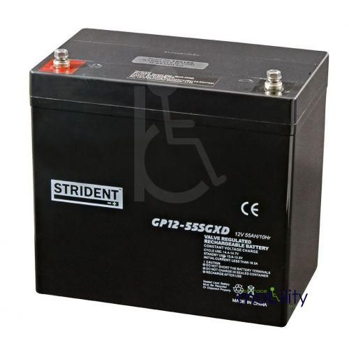 Strident 55ah AGM Battery