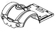 Front Shroud for Kymco Strider Midi EV10DA