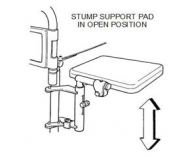 Stump Support For A Remploy Wheelchair