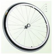 Rear Wheel Complete for Quickie Argon 2 Wheelchair