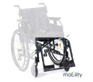 Footplate And Hangar For Drive Devilbiss SD2 Aluminium Wheelchair