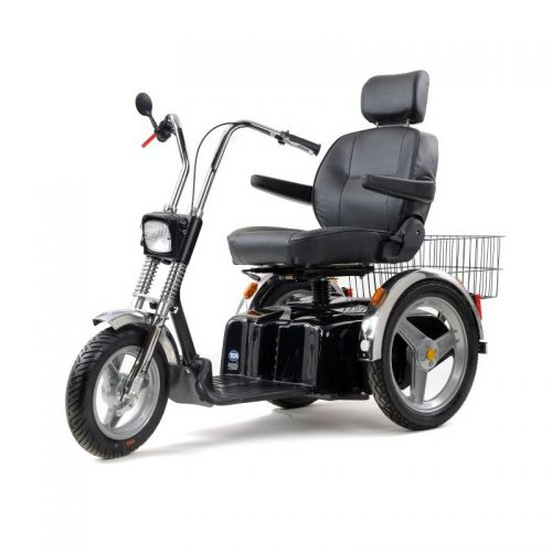TGA Supersport Black and Chrome Mobility Scooter