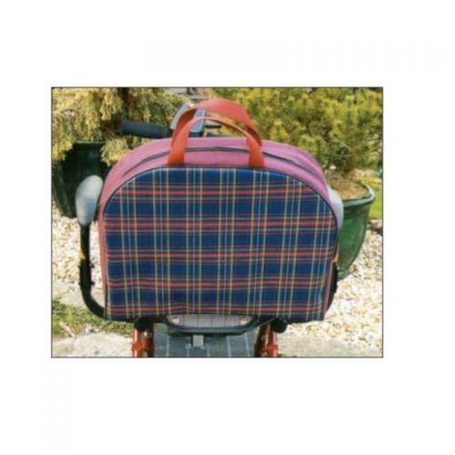 Mini Holdall Tartan Scooter Bag