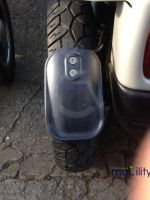 Rear Mud Guard Assembly For Rear Wheel On A Breeze 4
