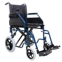 Attendant Or Self Propelled Transportable Wheelchair