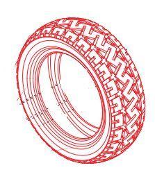 Low Profile Tyre For A Pride Colt Pursuit