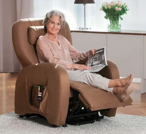 Topro Verona Dual Motor Rise and Recline Armchair