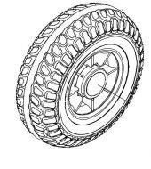 Rear Wheel for Roma Vienna