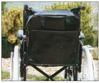 Wheelchair Patent Black Croc Skin