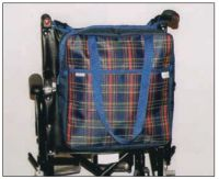 Wheelchair Bag Tartan