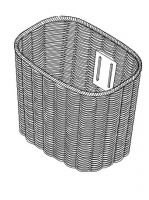 Wicker Basket for Roma Sovereign 4