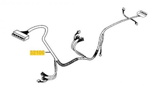 Main Wiring Harness For A Kymco Maxi For U EQ40AA