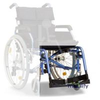 Footplate And Hangar for Aktiv X5 Deluxe Modular Aluminium Transit and Self Propel Wheelchair