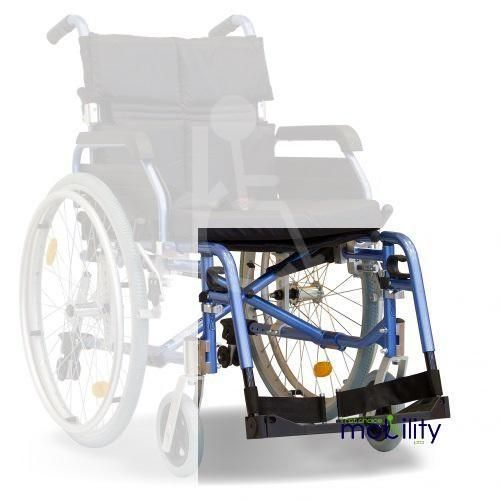 Replacement Footplate And Hangar For Aktiv X5 Deluxe Modular Aluminium Transit and Self Propel Wheelchair