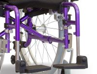 Pair Of Footplates For A Aktiv X6 Wheelchair
